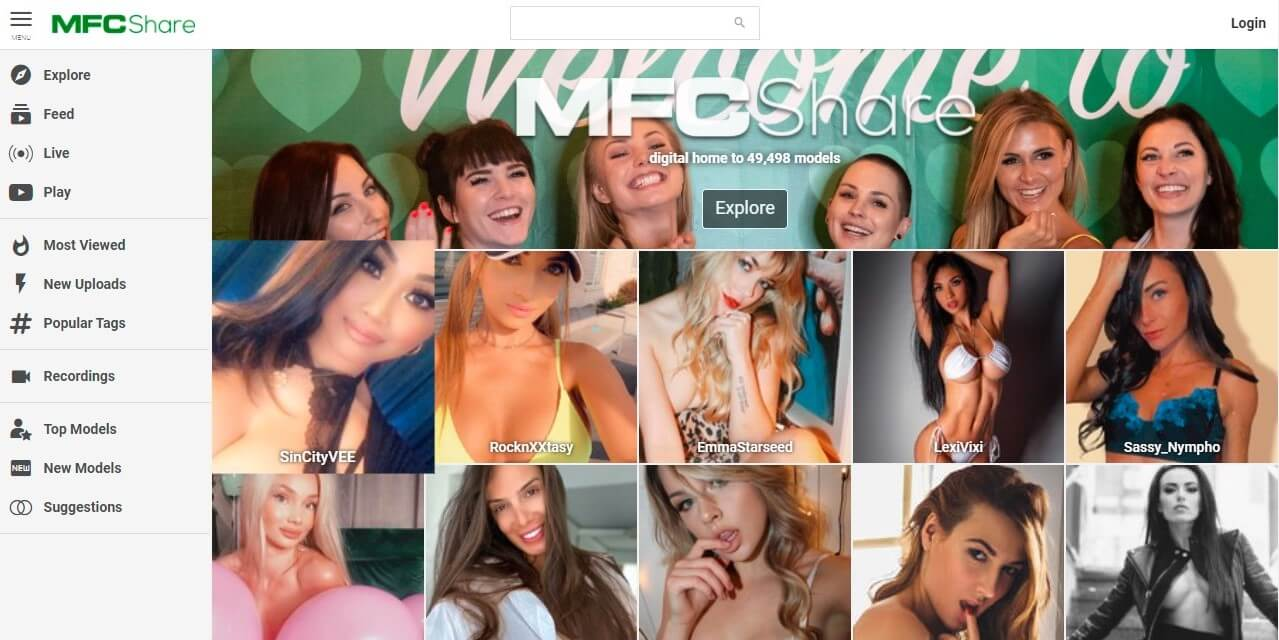 MyFreeCams Share With Horny Girls